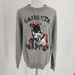 New Altard State Gangsta Wrapper Christmas Sweater